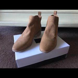 Dolce Vita Tan Suede booties Size 9M